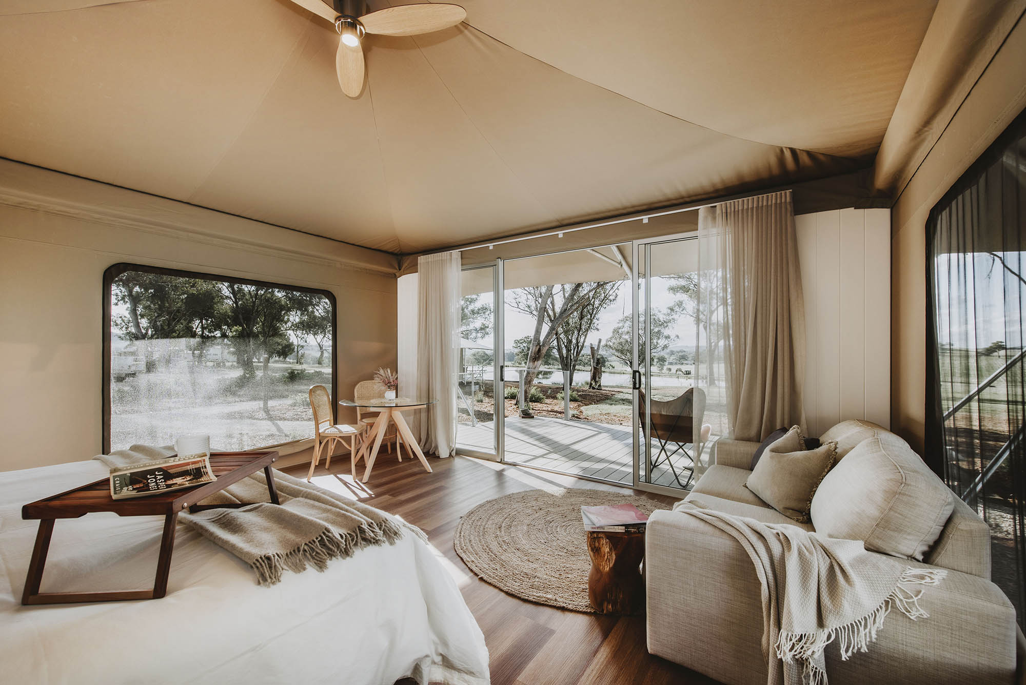 evamor valley eco glamping experience mudgee nsw